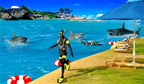 Jagd Shark hunting 3D: Deep dive 2 auf Deutsch