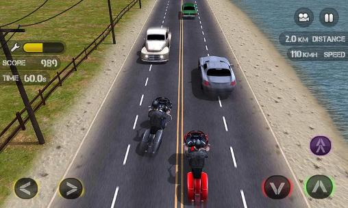 Race the traffic moto für Android