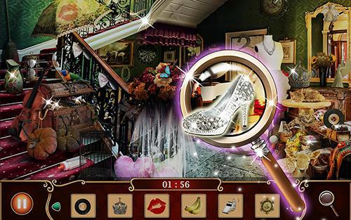 Princess games Hidden object: Princess castle in English