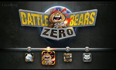 Battle Bears Zero captura de pantalla 1
