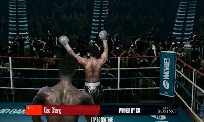 アンドロイド用ゲーム リアル・ボクシング のスクリーンショット