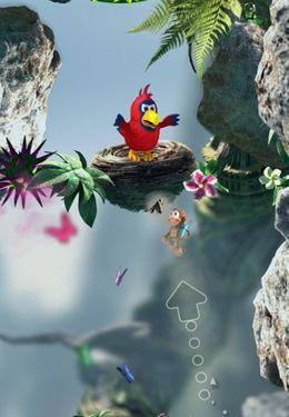 Screenshot Springe durch Dschungel auf dem iPhone