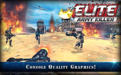 Jogos de tiro em primeira pessoa Elite: Army killer em portugues
