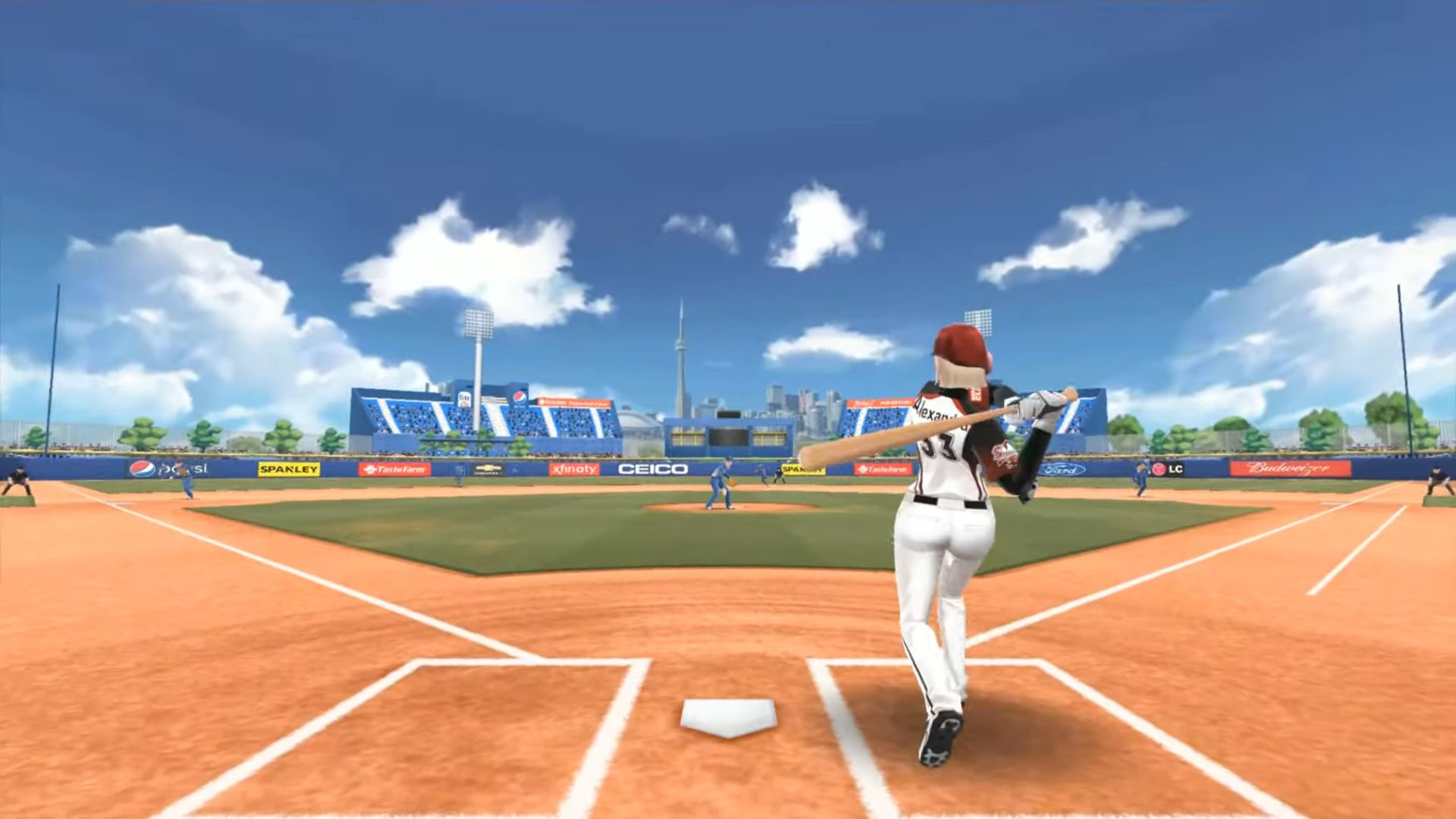 Baseball Clash: Real-time game captura de pantalla 1