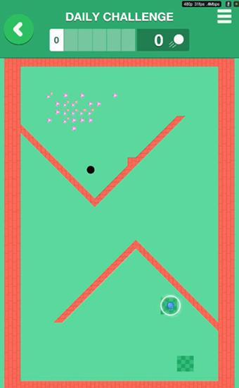 Arcade-Spiele Microgolf masters für das Smartphone