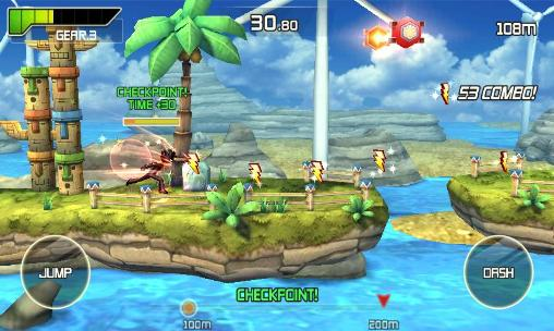 Platform games Run and fly in English