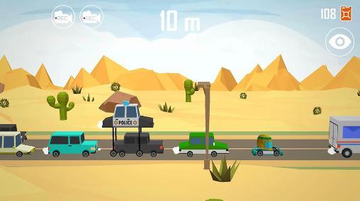 Laufspiele Lift car: Pumping smashy race auf Deutsch