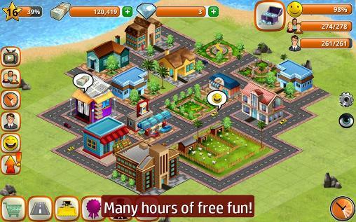 Strategie Village city: Island Sim für das Smartphone