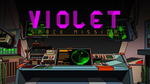 Screenshot Violet: Weltraum Mission auf dem iPhone