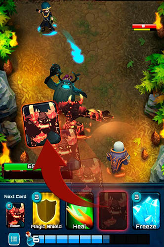 Clash of wizards: Epic magic duel für Android