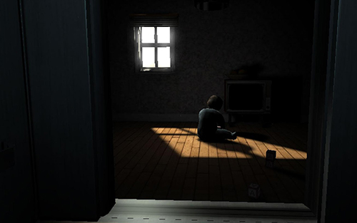A chair in a room screenshot 1