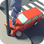 Crossroad crash Symbol