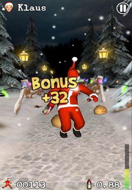 Screenshot Besoffener Weihnachtsmann auf dem iPhone