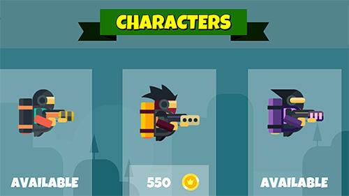 Arcade-Spiele Jetpack shooter für das Smartphone