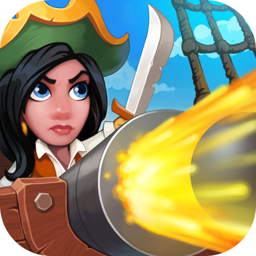 Pirate Bay - action pirate shooter. Aim and shoot icono