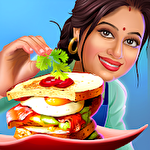 Patiala babes: Cooking cafe. Restaurant game icono
