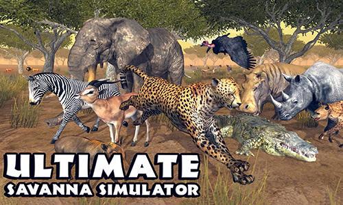 Ultimate savanna simulator captura de tela 1