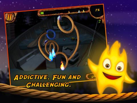 Arcade-Spiele: Lade Brenne das Seil an 3D auf dein Handy herunter