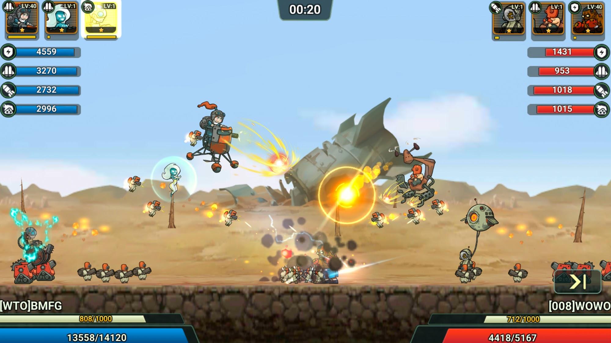 Wasteland Lords para Android