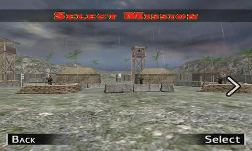Arcade-Spiele Modern army: Sniper shooter für das Smartphone