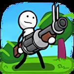 One gun: Stickman Symbol