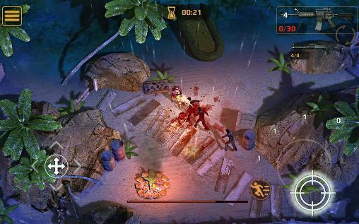 Actionspiele Dead plague: Zombie outbreak für das Smartphone