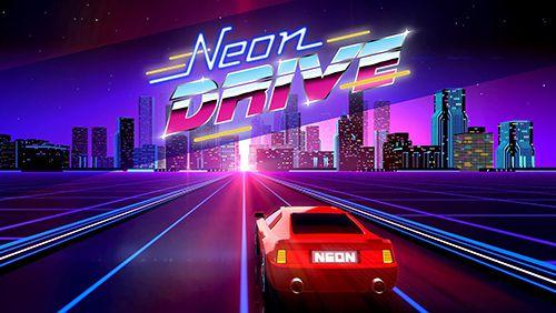 логотип Неоновое вождение