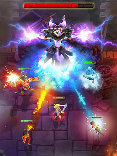 幻想 Darkfire heroes英语