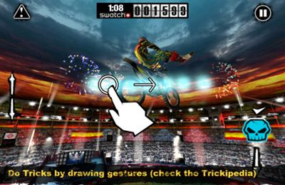 Racing games: download Red Bull X-Fighters 2012 to your phone