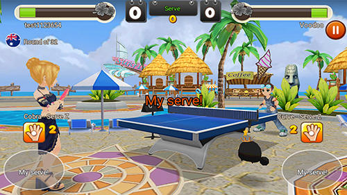 King of ping pong: Table tennis king für Android