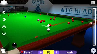 Multiplayer (Bluetooth) International Snooker HD for smartphone