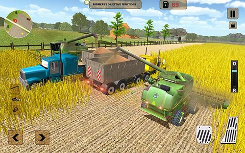 Traktor-Spiele Real tractor farming sim 2017 auf Deutsch