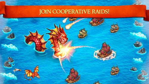 Online Strategiespiele Dragons and vikings: Empire clash auf Deutsch