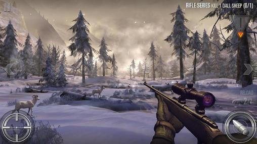 Simulator-Spiele Deer hunter 2016 für das Smartphone