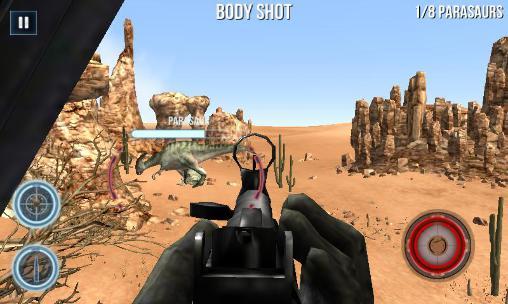 Dino gunship: Airborne hunter Screenshot