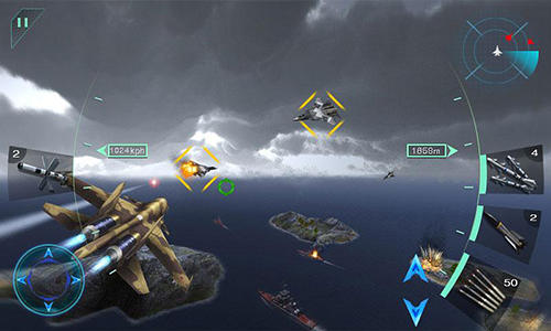 Sky fighters 3D für Android