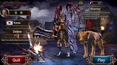 Blood warrior: Red edition captura de pantalla 1