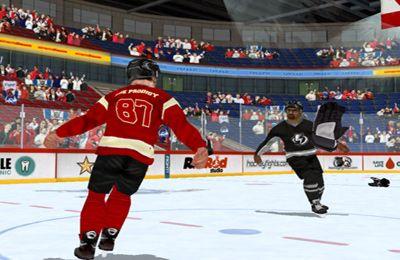 Скриншот Хоккейная Битва на Айфон
