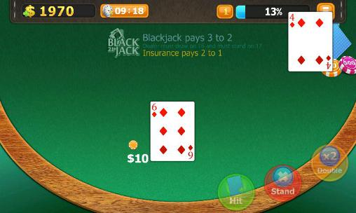 Blackjack 21: Classic poker games скріншот 1