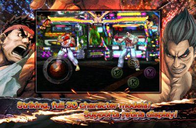 対戦型格闘ゲーム: 電話に ストリートファイター X 鉄拳 MOBILEをダウンロード