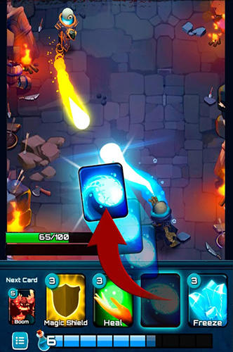 Fantasy Clash of wizards: Epic magic duel auf Deutsch