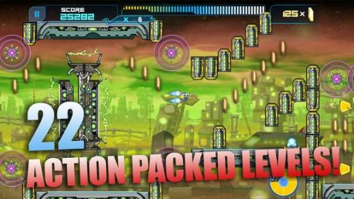 Screenshot Raketen-Läufer auf dem iPhone