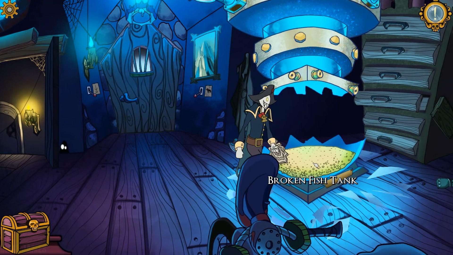 Darkestville Castle captura de pantalla 1