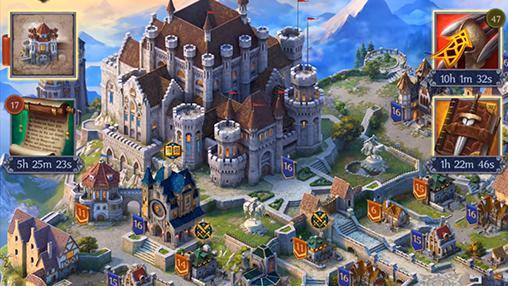 Onlinespiele Throne: Kingdom at war für das Smartphone