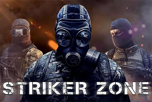 Striker zone: 3D online shooter captura de pantalla 1