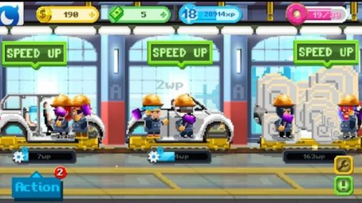 Motor world: Car factory для Android