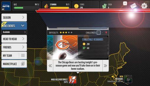 Jogos de esportes Madden NFL mobilepara smartphone