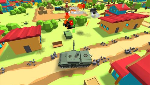 Shooters World of cartoon tanks auf Deutsch