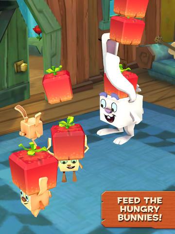 Screenshot Stapel-Hase auf dem iPhone