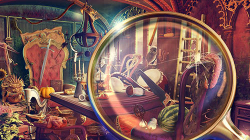 Hidden objects haunted thrones: Find objects game für Android